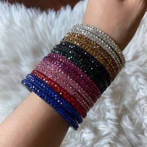 Glitz Rainbow Bangles